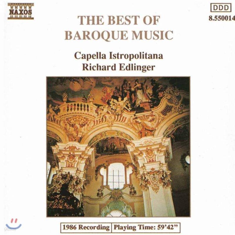Capella Istropolitana 바로크 음악 명곡집 (The Best Of Baroque Music)