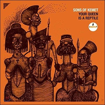 Sons Of Kemet (썬즈 오브 케멧) - Your Queen Is A Reptile [2 LP]