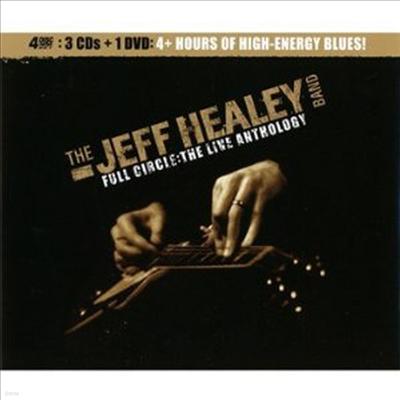 Jeff Healey Band - Full Circle-the Live Anthology (3CD+DVD)(Box-Set)