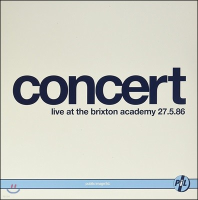 Public Image Limited (퍼블릭 이미지 리미티드) - Live At Brixton Academy 1986 [2 LP]