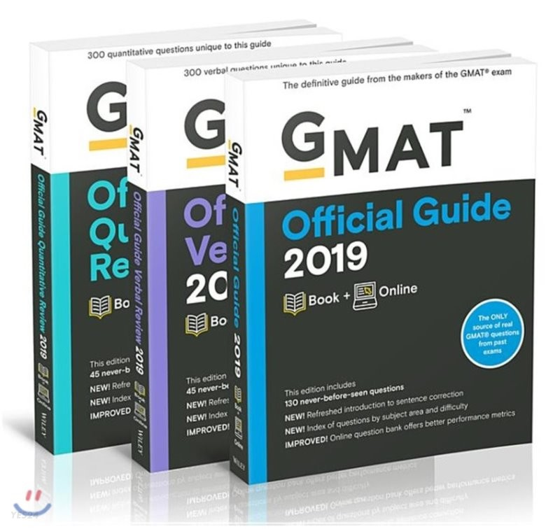 GMAT Official Guide 2019 : Official Guide / Verbal Review / Quantitative Review