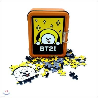 BT21 108피스 틴케이스 퍼즐 - 치미(CHIMMY)