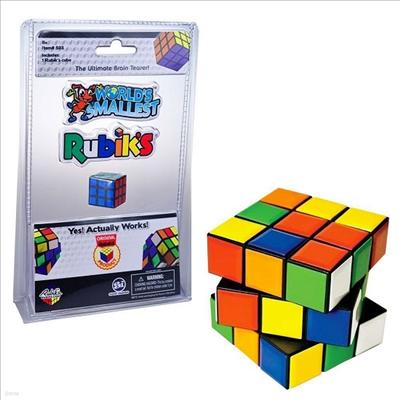 Worlds Smallest - Worlds Smallest Rubik