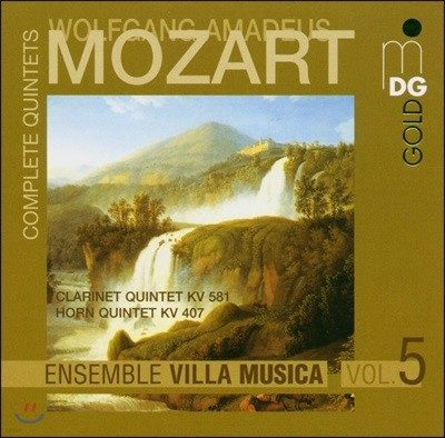 Ensemble Villa Musica 모차르트: 오중주 전곡 5집 (Mozart: Complete Quintets Vol.5)