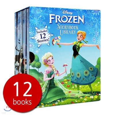 Disney Frozen Storybook Library - 스토리북 12권 세트