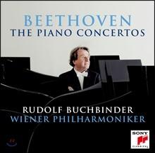 Rudolf Buchbinder 베토벤: 피아노 협주곡 전곡집 (Beethoven: The Piano Concertos Nos.1-5)