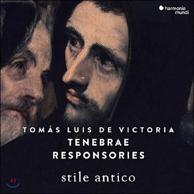 Stile Antico 빅토리아: 성주간을 위한 음악 - 스틸 안티코 (Victoria: Tenebrae Responsories)