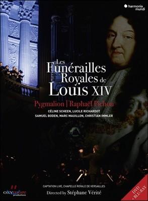 Raphael Pichon 루이 14세의 장례식 (Les Funerailles Royales de Louis XIV) [1DVD + 1Blu-ray]