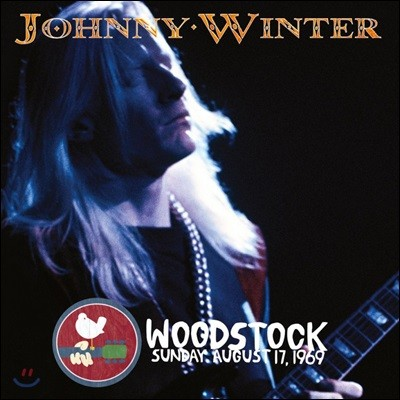 Johnny Winter - The Woodstock Experience 조니 윈터 1969년 우드스탁 라이브 [2LP]