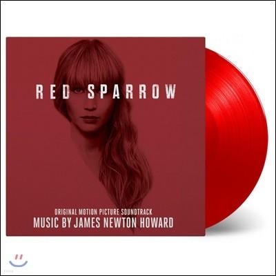 레드 스패로 영화음악 (Red Sparrow OST by James Newton Howard 제임스 뉴튼 하워드) [레드 컬러 2 LP]