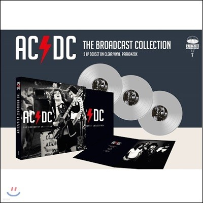 AC/DC (에이씨 디씨) - The AC/DC Broadcast Collection [투명 컬러 3 LP]