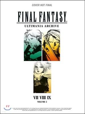 Final Fantasy Ultimania Archive #2 : VII, VIII, IX : 파이널 판타지 공식 아트북 얼티매니아 아카이브 2