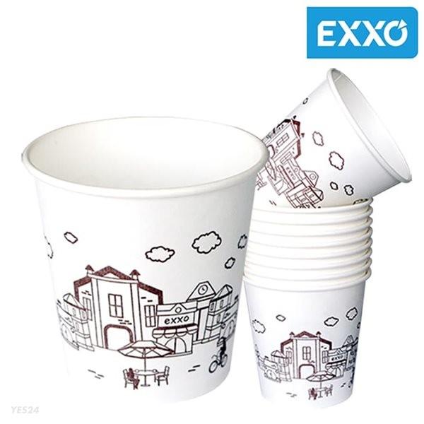 [무료배송]국내산 무형광천연펄프 엑소종이컵 1000개