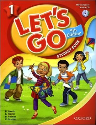 [4판]Let`s Go 1 : Student Book with CD