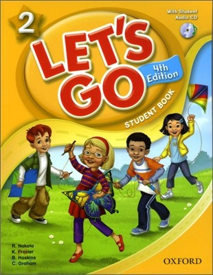 [4판]Let's Go 2 : Student Book with CD