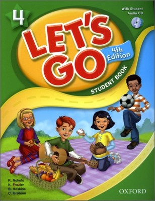 [4판]Let's Go 4 : Student Book with CD