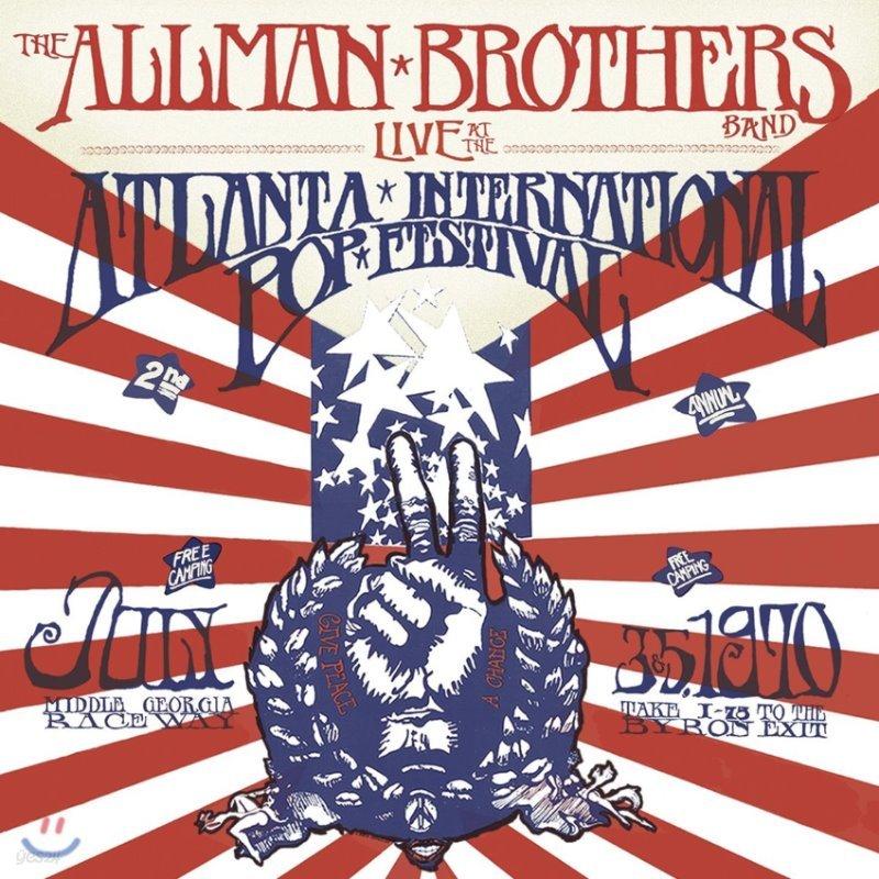 Allman Brothers Band (올맨 브라더스 밴드) - Live At The Atlanta International Pop Festival July 3 & 5, 1970 [4 LP]