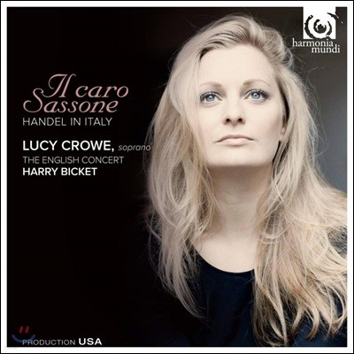 Lucy Crowe 헨델: 아리아집 '사랑받는 독일인' (Handel: Il Caro Sassone)