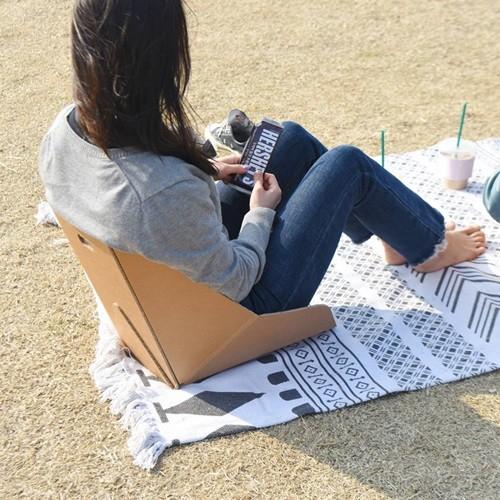 페이퍼팝 토트 종이등받이 의자1+1