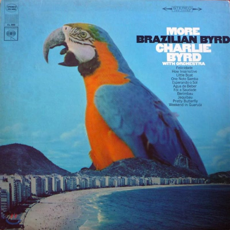 Charlie Byrd (찰리 버드) - More Brazilian Byrd [LP]