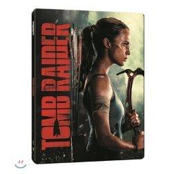 툼 레이더 (4K UHD 2Disc 스틸북 한정판 한정수량) : 블루레이