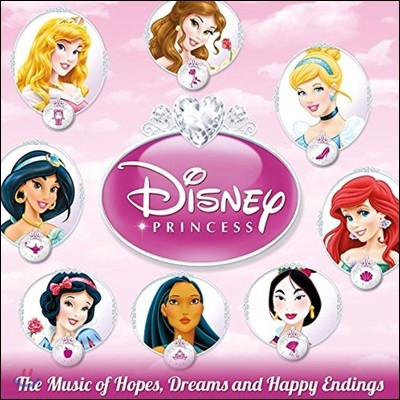 디즈니 공주 컬렉션 애니메이션 음악 (Disney Princess: The Music Of Hopes, Dreams And Happy Endings OST)