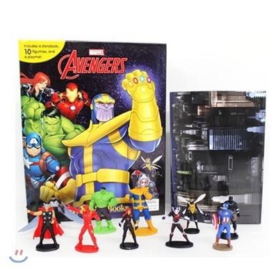 Marvel Avengers My Busy Book 마블 어벤져스 비지북 피규어책
