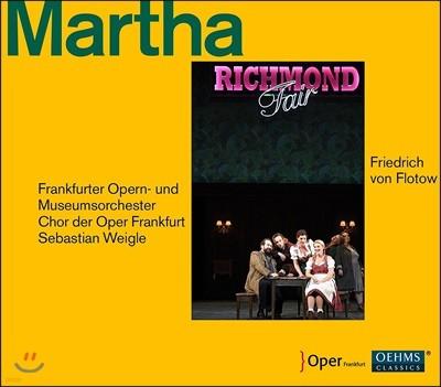 Sebastian Weigle 플로토: 오페라 '마르타' (Flotow: Martha)
