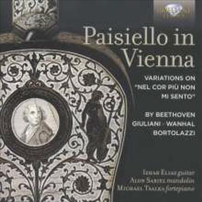 훔멜, 줄리아니, 베토벤 & 반할 - 만돌린과 기타, 포르테피아노를 위한 작품집 (Hummel, Giuliani, Beethoven & Vanha - Music for Guitar, Mandolin & Fortepiano - Paisiello In Vienna) - Alon Sariel