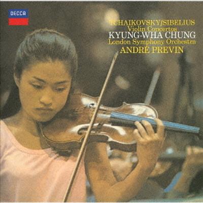 차이코프스키, 시벨리우스: 바이올린 협주곡 (Tchaikovsky, Sibelius: Violin Concertos) (SHM-CD)(일본반) - 정경화 (Kyung-Wha Chung)