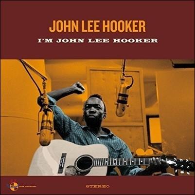 John Lee Hooker (존 리 후커) - I'm John Lee Hooker [LP]