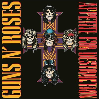 Guns N' Roses - Appetite For Destruction 건즈 앤 로지즈 데뷔 앨범 [2CD Deluxe Edition]