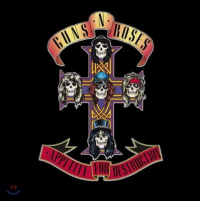 Guns N' Roses - Appetite For Destruction 건즈 앤 로지즈 데뷔 앨범