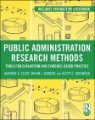 Research Methods for Evidence-based Public Management
