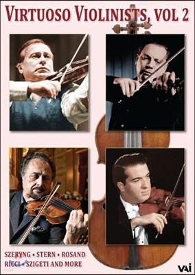 비르투오조 바이올리니스트 2집 - 헨릭 셰링, 아이작 스턴, 아론 로잔드, 루지에로 리치 (Virtuoso Violinist Vol. 2 : Szeryng, Stern, Rosand, Ricci)