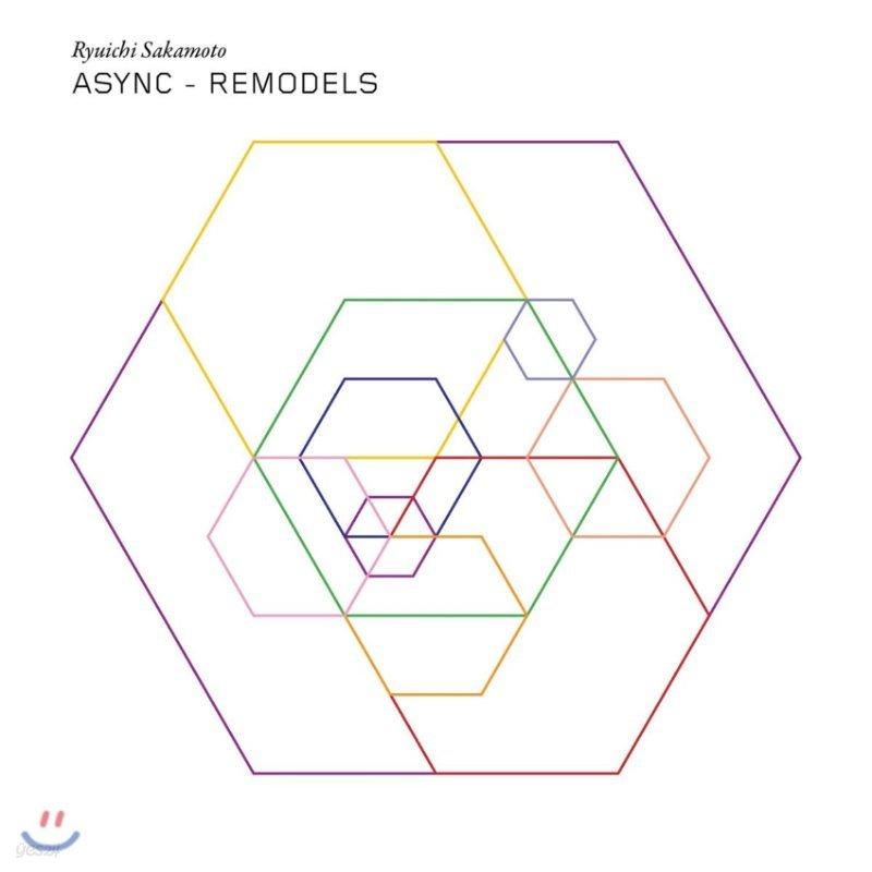 Ryuichi Sakamoto (류이치 사카모토) - Async: Remodels [2LP]