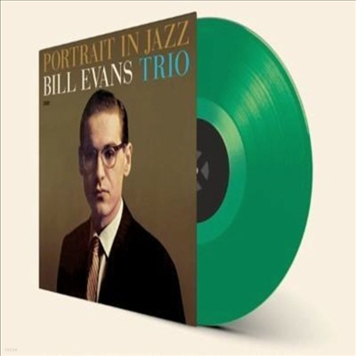 Bill Evans - Portrait in Jazz (Ltd. Ed)(Remastered)(Green Vinyl)(180G)(LP)