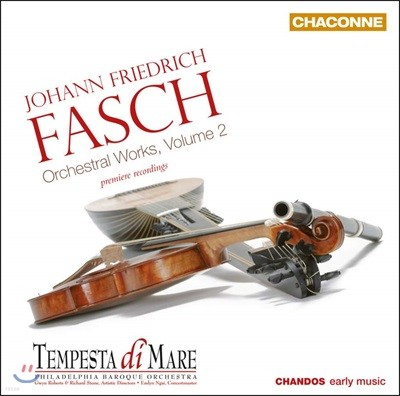 Tempesta di Mare 파슈: 관현악 작품 2집 (Johann Friedrich Fasch: Orchestral Works Vol. 2)