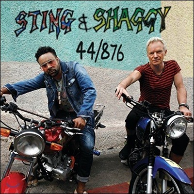 Sting & Shaggy (스팅 앤 섀기) - 44/876 [레드 컬러 LP]