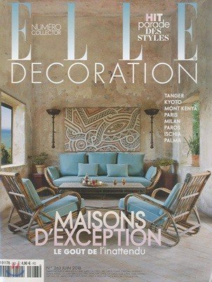 Elle Decoration France (월간) : 2018년 06월