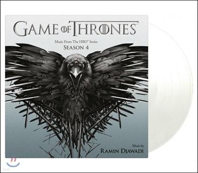 왕좌의 게임 시즌 4 드라마 음악 (Game Of Thrones Season 4 OST) [투명 컬러 2 LP]