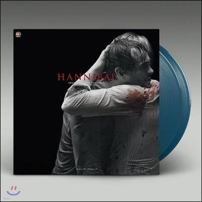 한니발 시즌 3 드라마 음악 (Hannibal Season III - Vol.2 OST by Brian Reitzell) [아틀란틱 블루 컬러 2LP]