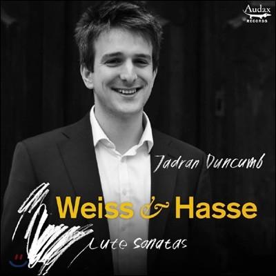 Jadran Duncumb 바이스 / 하세: 류트 소나타 (Weiss / Hasse: Lute Sonatas)