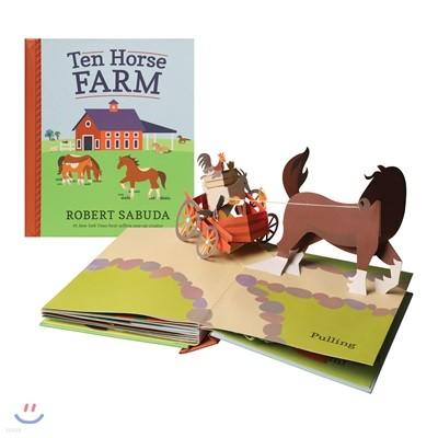 [스크래치 특가] Ten Horse Farm : A Pop-Up Book 농장 팝업북