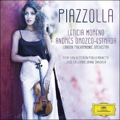 Leticia Moreno 바이올린으로 연주하는 피아졸라 유명 작품집 (Piazzolla)
