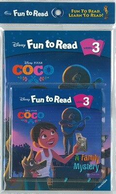Disney Fun To Read 3-23 SET / A Family Mystery (코코)