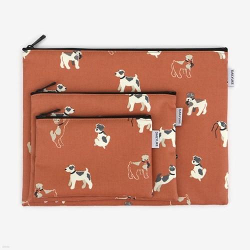 방수 파우치 L - 18 Fox terrier
