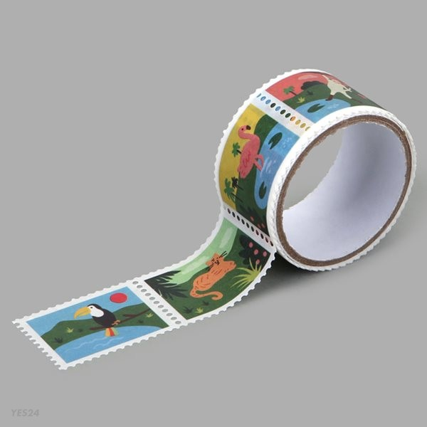 Masking tape : stamp - 16 Jungle