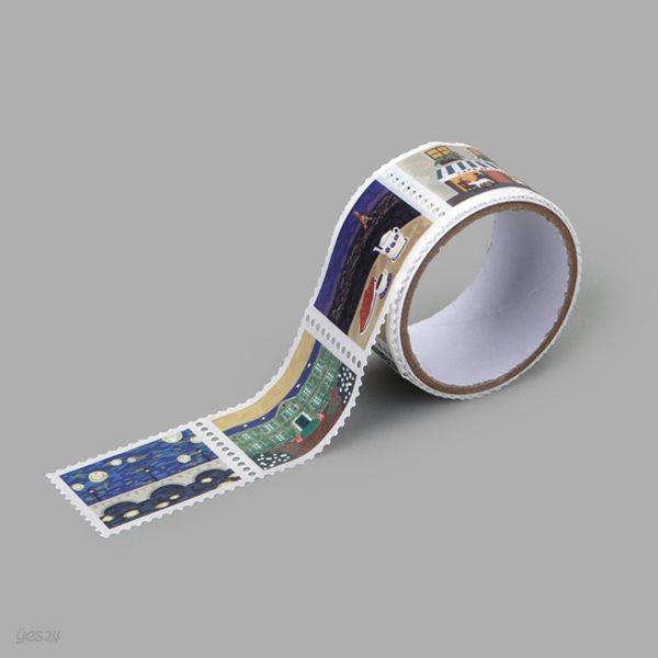Masking tape : stamp - 20 Paris
