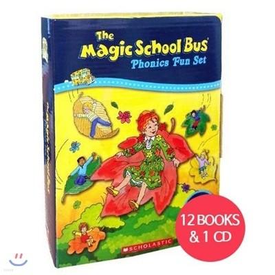 The Magic School Bus Phonics Fun Boxed Set (Book+CD)